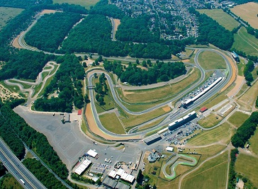 Brands Hatch Race Circuit in Dartford