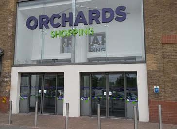 Orchards Shopping Centre in Dartford