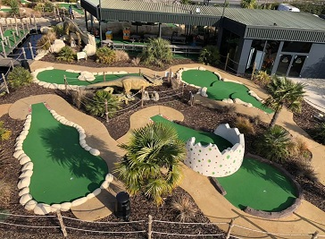 Pirate Cove Adventure Golf in Dartford