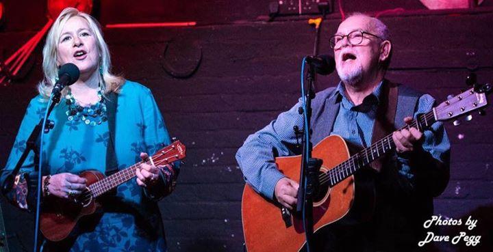 Sally Ironmonger & Brian Carter at Dartford Folk Club
